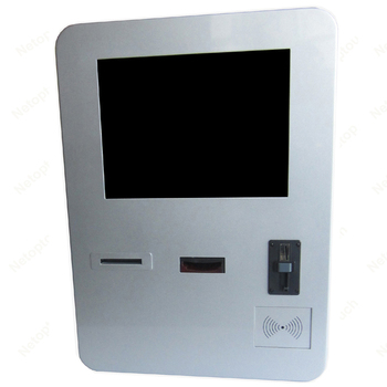 Certificated wall-mounted touch computer kiosk