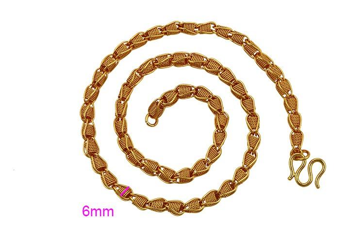 78eb23f95e3 Xuping bijoux chine en gros cadeau de mode dubaï or homme collier vente pas  cher chaîne