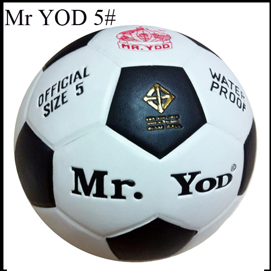 China factory 4 color wholesale price Standard Size 5 mr Yod PVC football ball