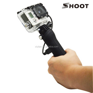 SHOOT Mobile Power Bank Grip, Capacity: 3300mAh, for GoPro Hero 4S/4/3+/3/2/1/XiaoYi/SJ Cameras.