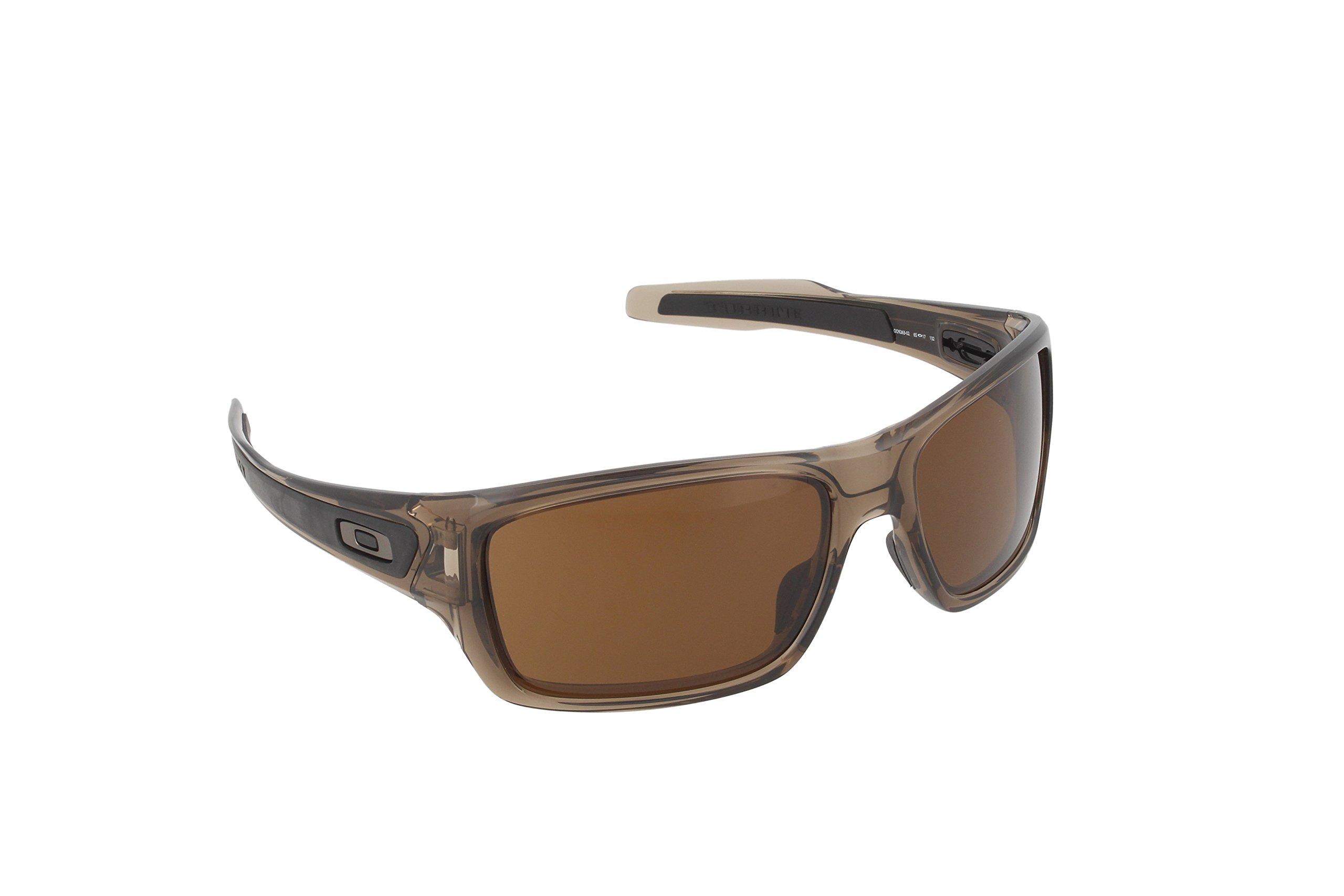 e5374d0f81 Get Quotations · Oakley Men s Turbine OO9263 Rectangular Sunglasses
