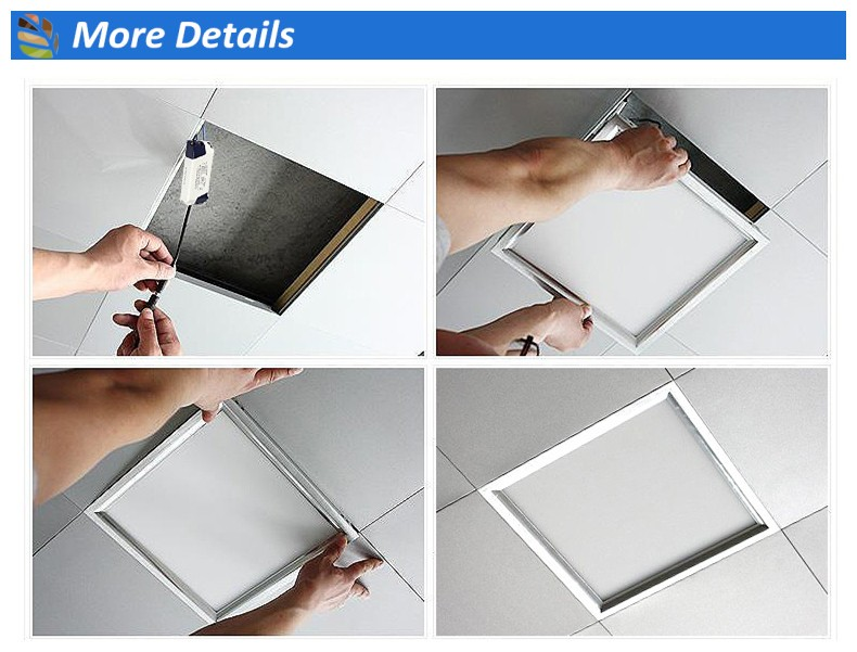 2018 special design 36w 40 watt 48w square led flat panel lighting 60cm x 60cm
