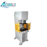 100ton C Frame Electric Hydraulic Power Press Machine for Lamp Cap