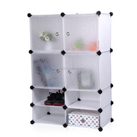 Superior quality dampproof PP cheap storage cabinet