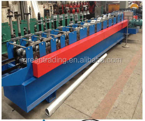 floor tile polish machine water down pipe corrugated sheet roll forming machine price