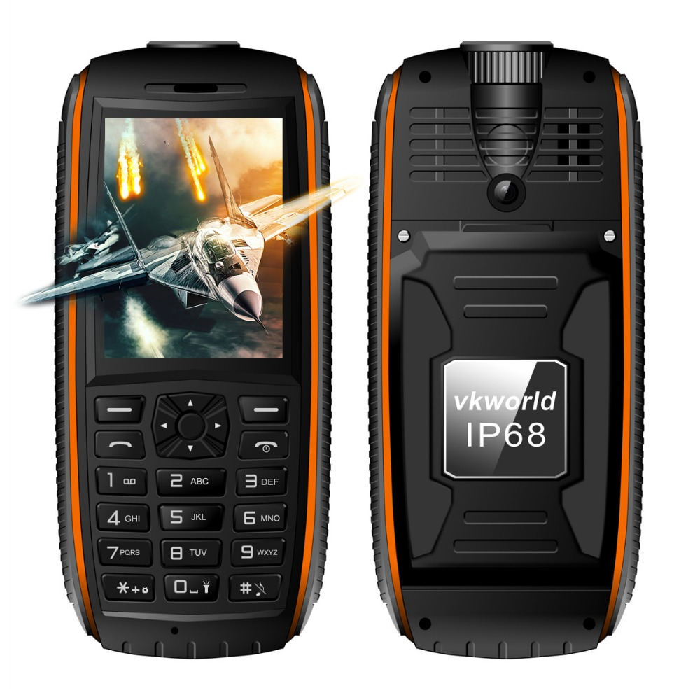 2016 outdoor rugged 2.4inch waterproof hope dual sim mobile phone vkworld stone v3 max