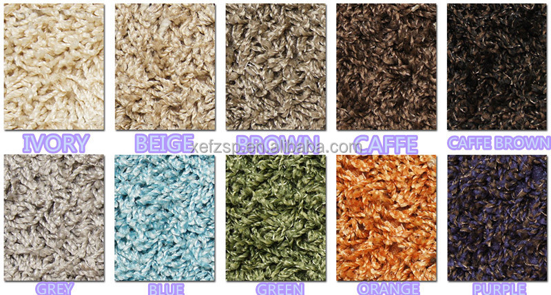 sound proof cheap bedroom shaggy carpet rug gripper