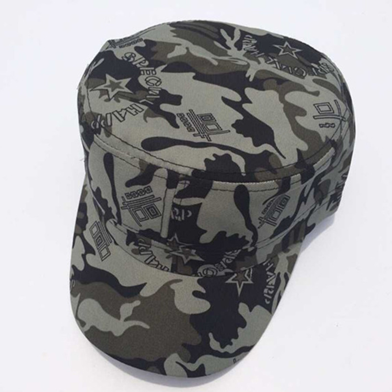 97ac2e05015b3 Get Quotations · Hot Selling 8 Colors Unisex Fashionable Men Women Military  Hats Sun Visor Army Camouflage Military Soldier