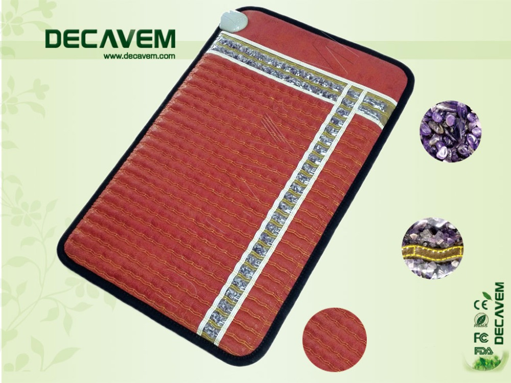 Ceragem Price Jewels Grade Electric Heated Anion Sofa or Bed Use Amethyst Mat CE Registered