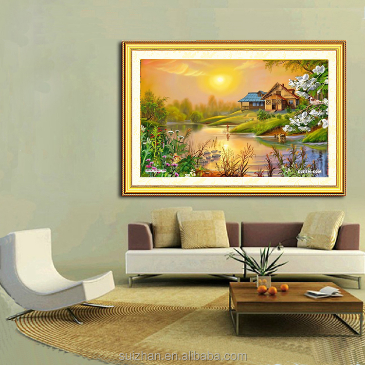 Village Scenery Drawing, Village Scenery Drawing Suppliers and ...