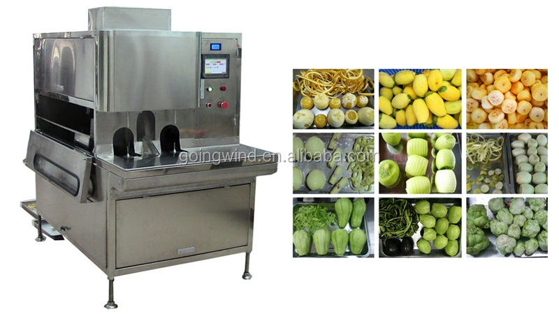 Automatic fruit skin peeling machine auto industrial fruit and vegetable peeler machinery cheap price for sale
