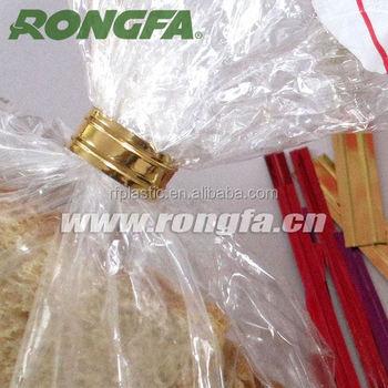 Golden Pe Plastic Bread Bag Wire Twist Tie