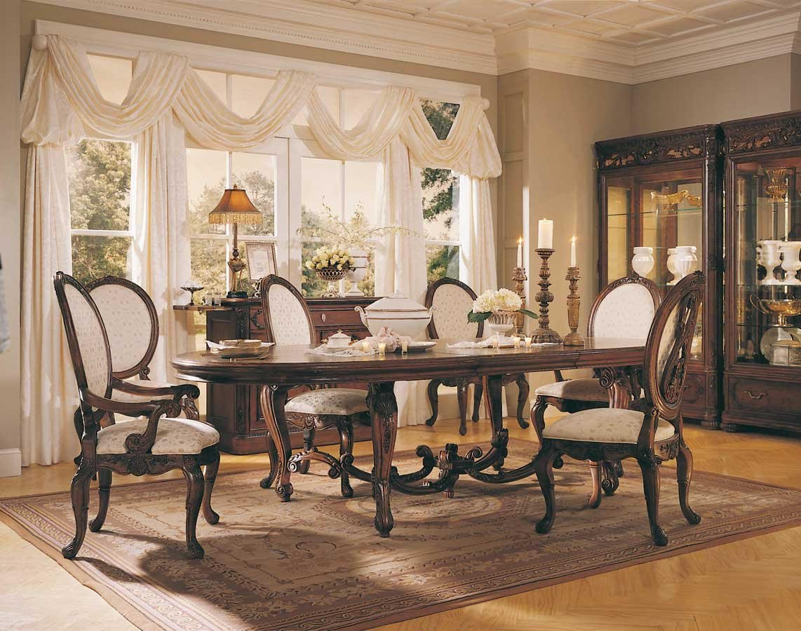 American Drew Jessica Mcclintock - The Romance Renaissance Dining - Buy  Wooden Dining Set Product on Alibaba.com