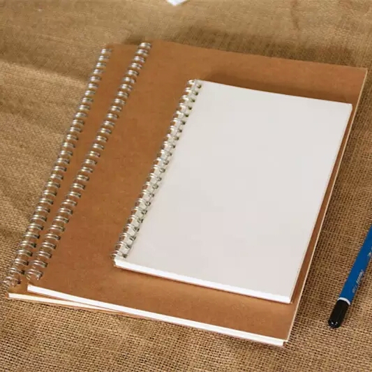 manufacturers hardcover coil binding small business notebook