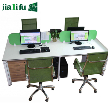 Jialifu ISO9001Certificate compact hpl latest computer desk table office