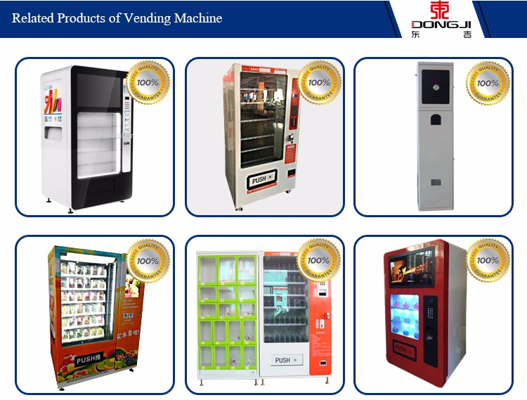 Large and Smart Vending Machine with High Quality