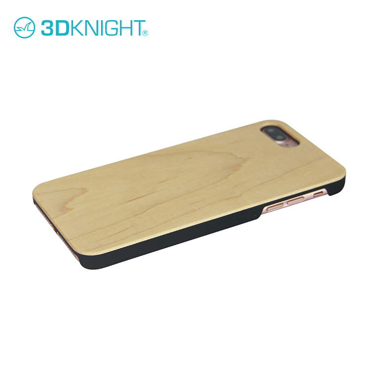 Ultra Thin Bamboo Wooden Cell Phone Case Cover For iPhone 8 plus