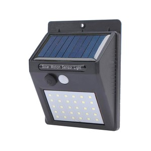 China 2018 NEW 30 leds wall mounted motion sensor light outdoor lamp led solar light , solar wall light , led solar lamp