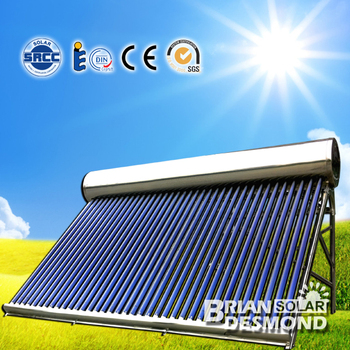 Best Quality Non Pressure Vacuum Tube Solar Water Heater
