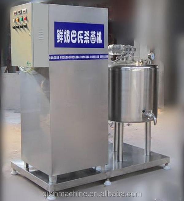 small milk pasteurization machine