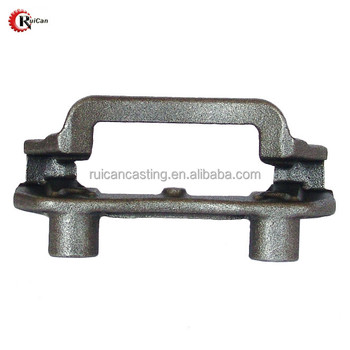 15% off shipping OEM ISO9001 China supplier QT400-18 iron casting mounting metal brackets for Auto. parts
