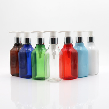 200Ml White Color Custom Empty Cosmetic Plastic shampoo pump Lotion Bottle