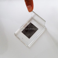 Wholesale mini acrylic magnetic photo frame/ Fridge magnet