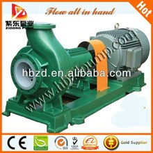 Chemical war industry project centrifugal pump