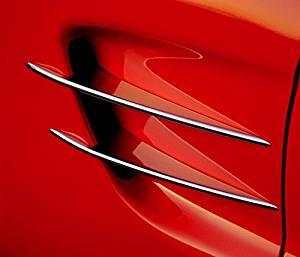 1997-2004 C5 & Z06 Corvette Billet Chrome Side Spears