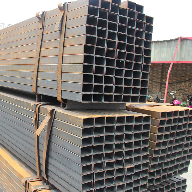 Different wall thickness gi square pipe ms square tube price list