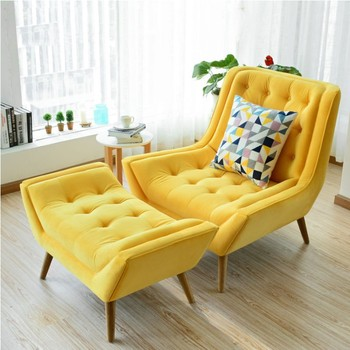 Fancy Comfortable Single Lounge Divan Sofa Chair And Living Room Chairs