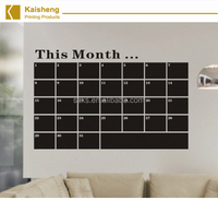 peel and stick calendar chalkboard wall decal