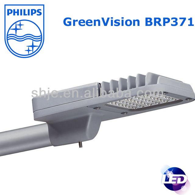 Philips Solar Led Street Lighting Brp371 55w For Road Energy Saving High Efficient Economic View Light