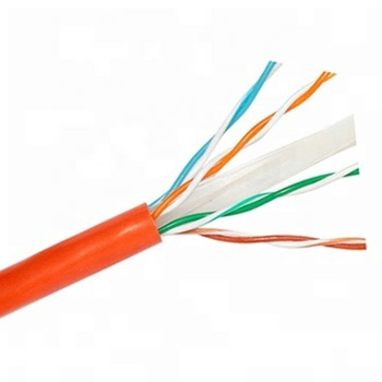 Factory Hot selling color code 300m cat6a FTP UTP rj45 cable cat6 CAT6e cable network cable
