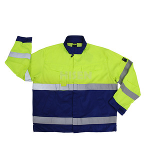 Professional high temperature protective clothing, men hi vis workwear