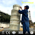 MY Dino MB-05 Customized Miniature Sculpture Learning Tower Of Pisa