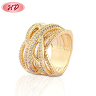 fashionable costume diamond gemstone 1 gram 14k white gold latest new model wedding ruby rings jewelry designs wholesale