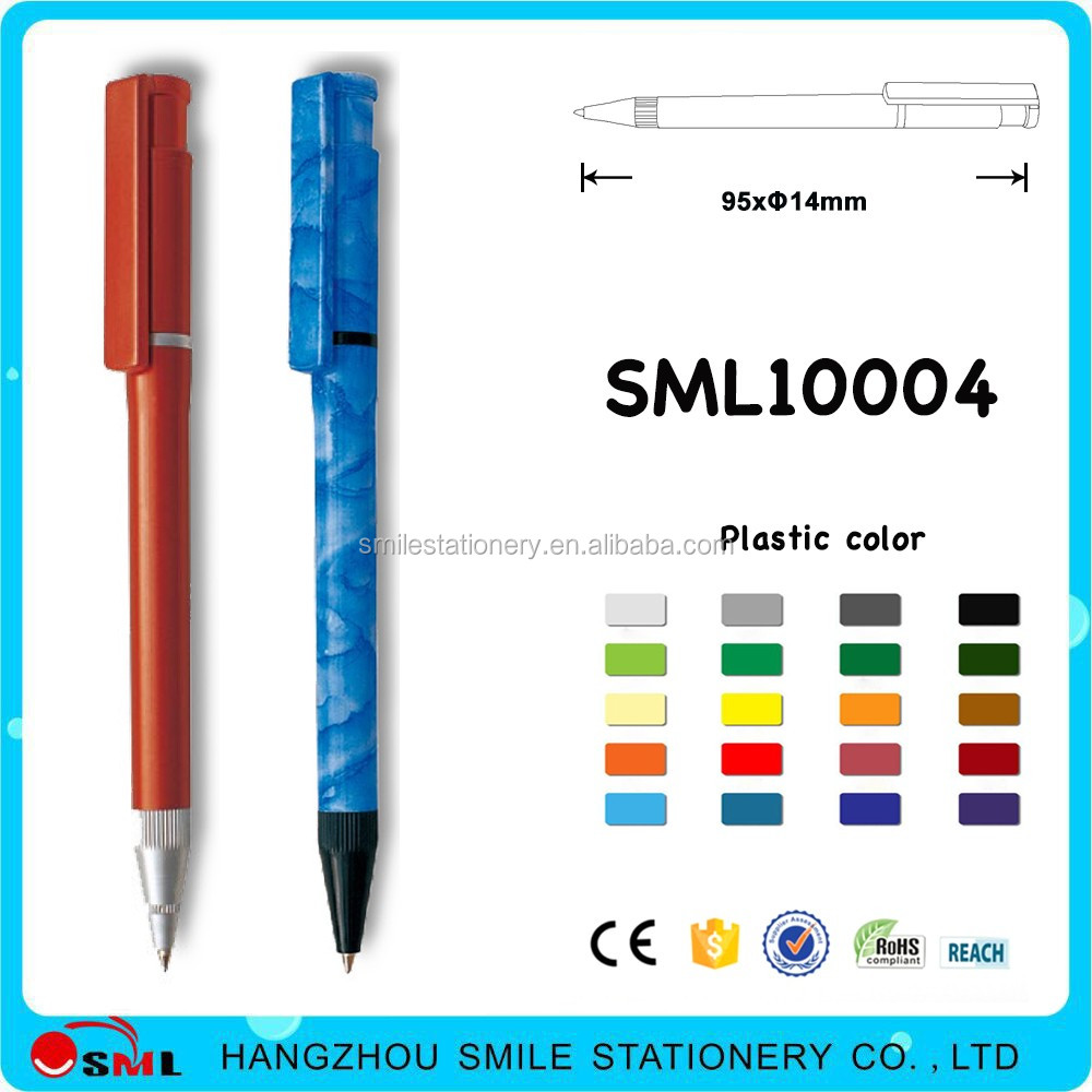 elegant stick ball pen simple ball pen cheapest pen for promotional