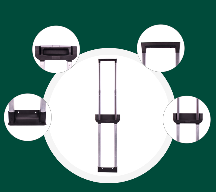 Parts of the suitcase accessories handle