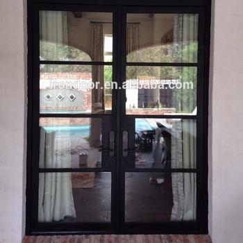 French Steel Double Door Buy Fabricated Steel Doors Arched French Doors Interior Steel French Doors Exterior Product On Alibaba Com