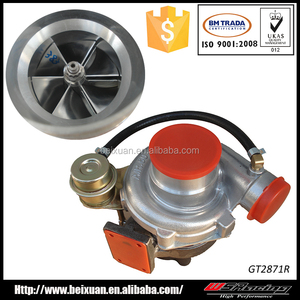 GT2871R Dual Ball Bearing Performance Auto car Turbocharger Turbo for Ford Focus