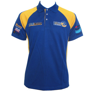 Striped Shorts Sleeve Polo Shirts Supplier