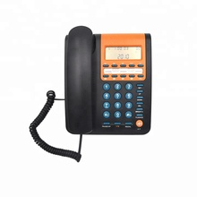 Guangdong Hot Product Wandmontage Snoer <span class=keywords><strong>Caller</strong></span> ID Telefoon met 9 Groepen One-Touch Geheugen Speed Dial Functie Leverancier