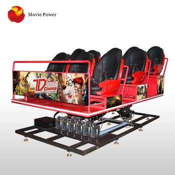 Truck portable 7d cinema dinosaur game satisfied amusement park
