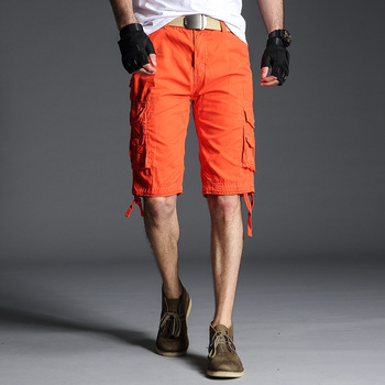 2019 wholesale summer outfits loose fit plus size zipper fly army military mens navy cargo shorts short pants