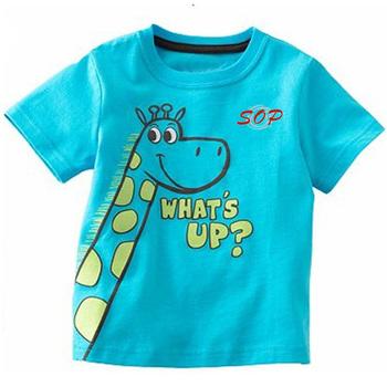 5a836151a Los niños de verano t camisa top de manga corta impresas de manga corta  Camiseta para
