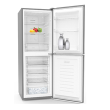 250Liter 258Liter Home Appliance Use OEM Service Electric Control Double Door Bottom Freezer Combi Type No Frost Refrigerator