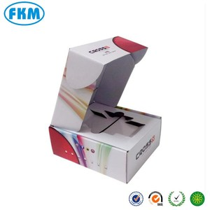 Custom design Corrugated Paper Carton Packing Boxes for Cell Phone