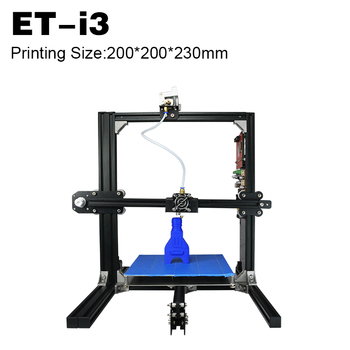 2018 Mini 3D Printer Diy Kit Machine 200*200*200mm ET-i3 Super Helper 3D Printer Diy Kit
