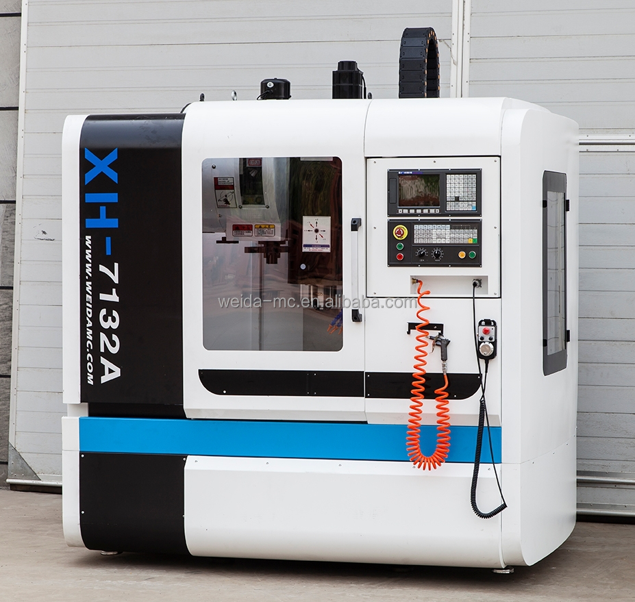 Xh7132 Vmc Machine With Siemens Or Fanuc Controller,Chinese Cnc ...